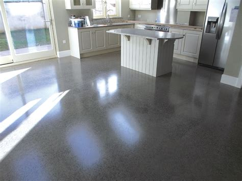 concrete floor finish selfbuild