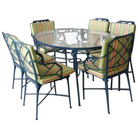pc brown jordan calcutta patio set dining table arm