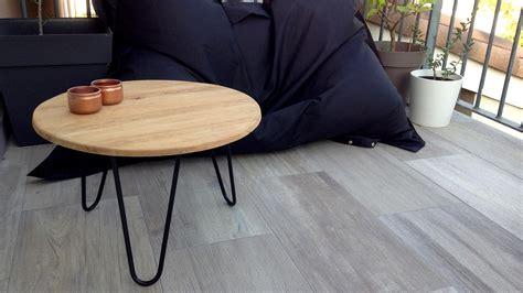 diy table basse ext 233 rieure en bois et m 233 tal diy d 233 co