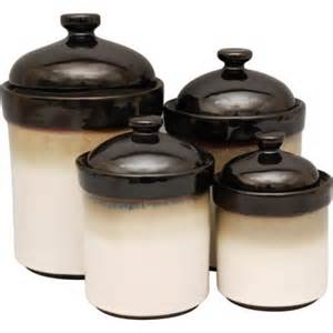 black kitchen canister sets sango 4 canister set black walmart