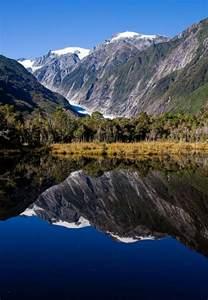 Glacier South Island New Zealand