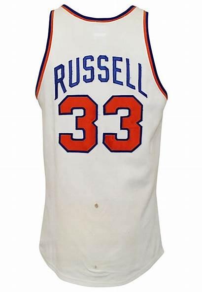 Knicks 1970 York Cazzie Russell Jersey Rare