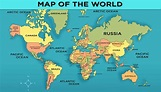 World Map with Countries - General Knowledge for Kids | Mocomi