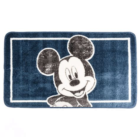 mickey mouse bath mat disney mickey mouse soft washable bath mat 50x85cm ebay