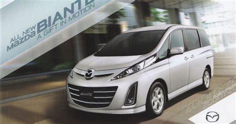 Gambar Mobil Mazda Biante by Mazda Biante Mazda Jakarta
