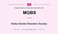 MGBS - Malta Gloster Breeders Society in Organizations ...