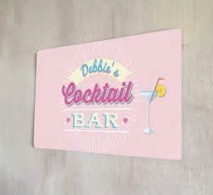 Cocktails and Dreams bar runner mat