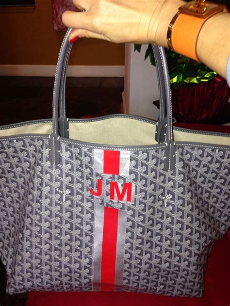 monogrammed trunks images  pinterest goyard passport holder goyard tote  bags