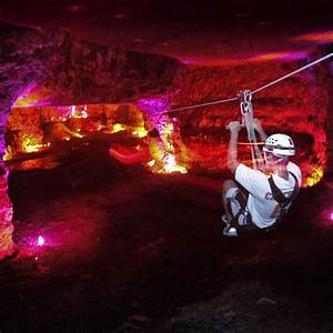 Kentucky Has An Underground Cave You Can Zip Line 17 Miles