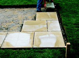 laying slabs for shed how to lay a patio ideas advice diy at b q