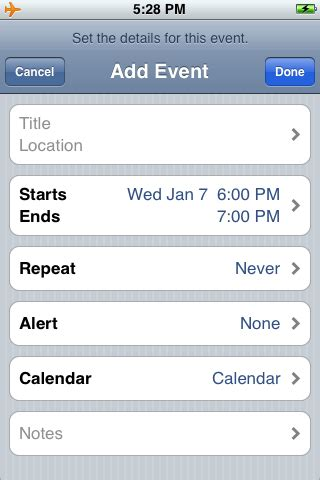 how to add calendar to iphone iphone 101 how to add a calendar appointment on your How T