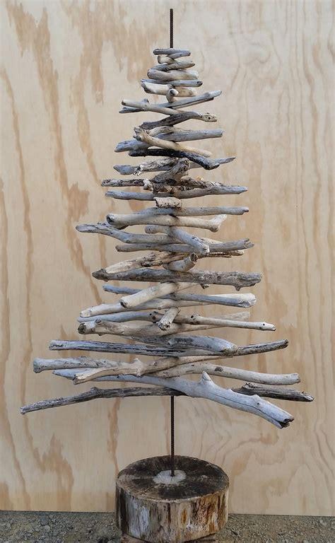 driftwood christmas tree craft favecraftscom