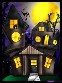 Spooky Cartoon Haunted House