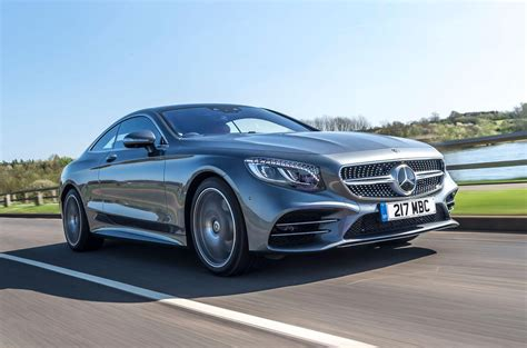 Mercedes Sclass S560 Coupe Amg Line 2018 Uk Review Autocar