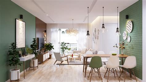 Scandinavian Home Style : Modern Scandinavian Home Concept Design Suitable For Young