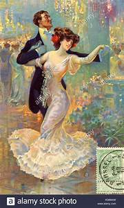 Early20thcent Dance Love Lover Romance Romantic Painting