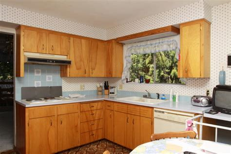 how to update flat kitchen cabinets how to update 60 s flat cabinets with out replacing 8937