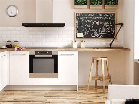 cocinas pequenas como aprovechar el espacio cocinas