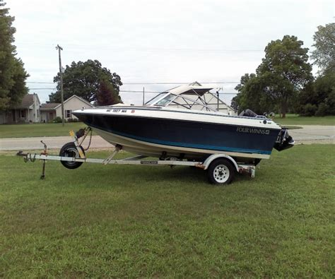 Boats For Sale In West Mi by 1987 Four Winns Freedom 160 Ski Boat For Sale In West