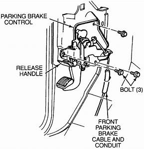 How To Tighten Parking Brake On 03 Camry
