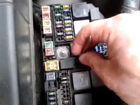 ford mondeo mk3 test elektromagnesu