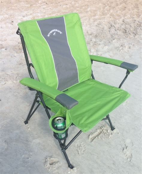 review of strongback cing beach chairs who said
