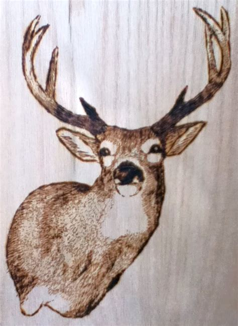 woodworking deer patterns