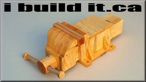 making  wooden vise doovi