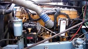 Used Cat C15 500hp Engine Start