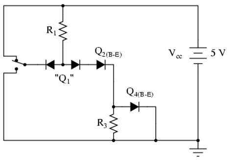 Circuit Diagram Of Nor Gate Using Diodes
