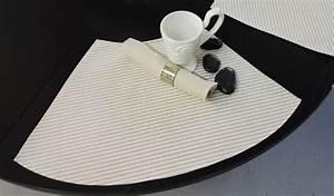 Eckbank Für Runden Tisch : konische tisch sets mit streifenmuster 4 st ck f r runde tische ~ Bigdaddyawards.com Haus und Dekorationen