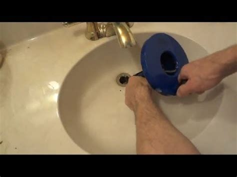 how to unclog a drain youtube