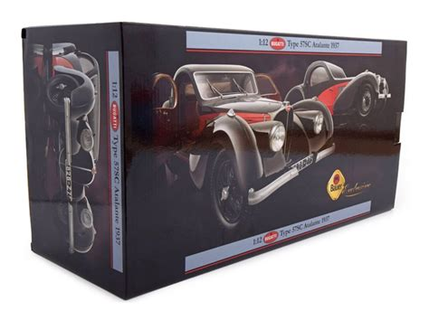 Miniature voiture échelle 1:18 matrix bugatti t57sc atalante diecast modélisme. 1:12 Bauer Bugatti Type 57SC Atalante 1937 желтый