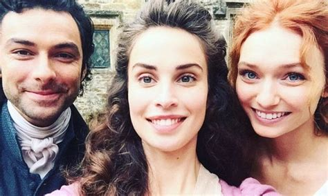 tom bateman instagram official poldark s heida reed shares twitter snaps of aidan turner