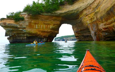 Best Pictured Rocks Boat Tour by Finding Adventure In Michigan S Peninsula Roadtrippers