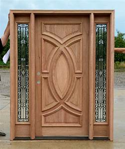 main door design wood home main doors design kerala With double door designs for home
