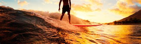 Sunset Surf  Canary Wave Surf School