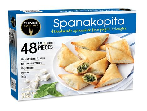 four cuisine spanakopita costco
