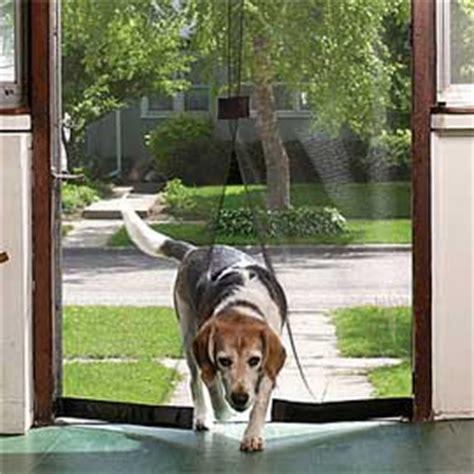 instant screen door walk through screen door