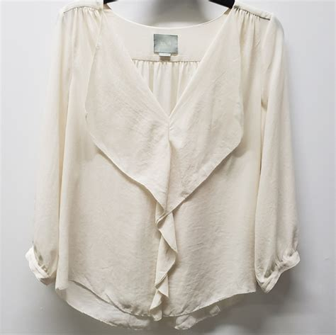 Anthropologie Tops | Maeve Loose Fit Blouse Size 6 | Poshmark