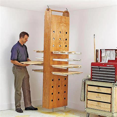 drop  drying rack woodworking plan  wood magazine