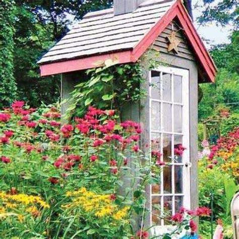 17 Best Ideas About Cottage Garden Sheds On Pinterest