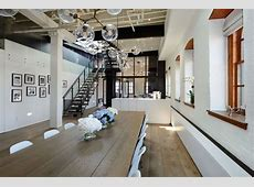 Warehouse Penthouse Loft Blends Modern New York With Old