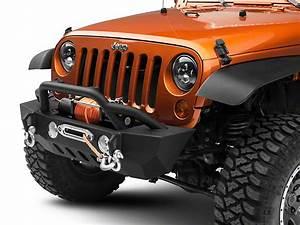 Redrock 4x4 Jeep Wrangler Crawler Stubby Front Bumper W