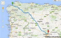 Cómo ir de A Coruña a Madrid Barajas en coche. Ruta – Guía ...