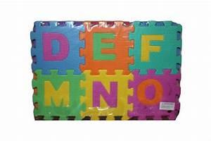 eva educational puzzle foam mat interlocking alphabet With foam letter blocks