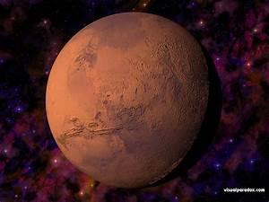 Free 3D Wallpaper 'Mars' 1024x768