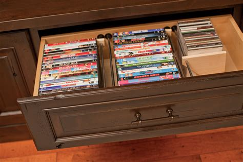 dvd cabinet with drawers new horizon cabinetry dvd pull out drawer