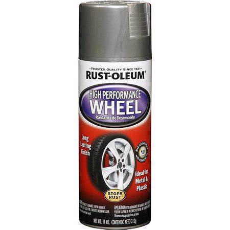 rust oleum high performance wheel flat black walmart com