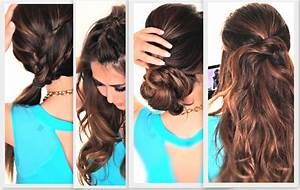 How To Do Easy Hairstyles For Medium Hair At Home HairStyles